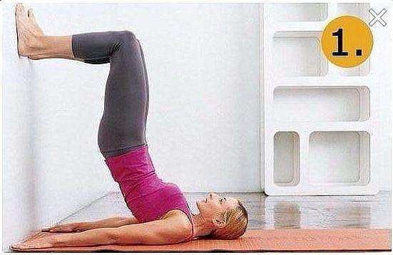 Чтобы обвисший живот быстро ушёл – эффективные упражнения возле стены
