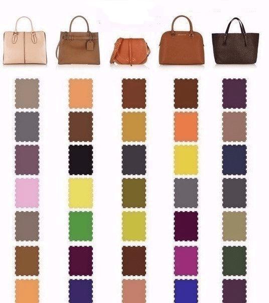 Очень полезная шпаргалка: какой цвет туфель подойдет к вашей сумочке