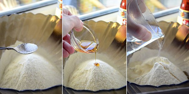 Китайские лепешки с зеленым луком: Хрустящая корочка и мягкая текстура внутри