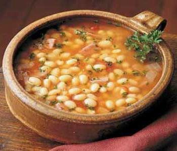 Божественно вкусный суп с фасолью. Рецепт моей прабабушки!