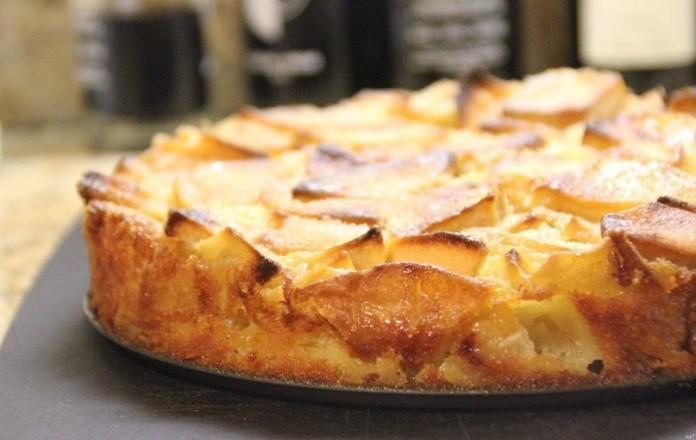 Диетический яблочный пирог с творогом и йогуртом. Худеем вкусно!