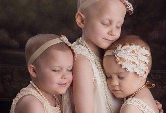 Фото этих больных раком девочек облетело весь мир. Но посмотри, что с ними произошло 2 года спустя!