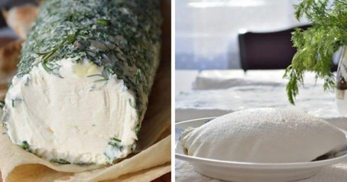 Как приготовить шикарную закуску, просто смешав сметану, кефир и зелень