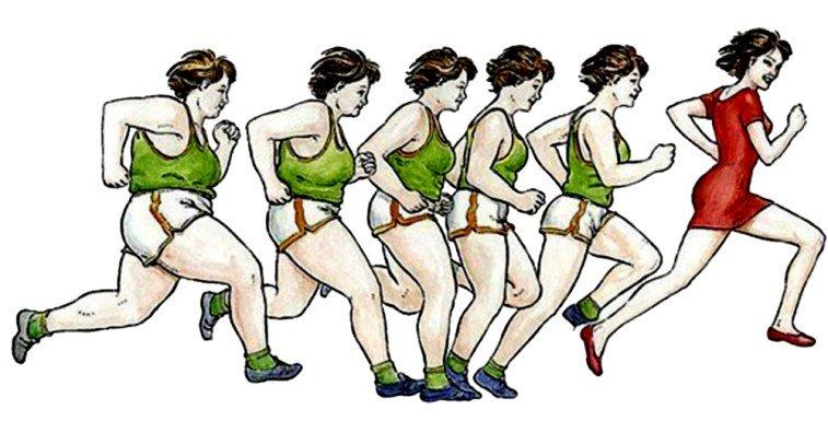 Почему бег не помогает похудеть: 5 самых распространенных ошибок