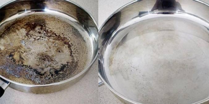 Как соль помогает очистить стоки, кухонные губки, поверхность стола, сковороды и утюга