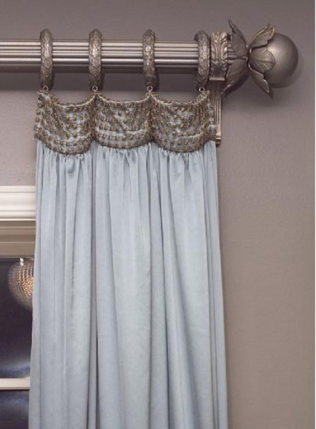 Красивейшие способы подвешивания штор на карниз!