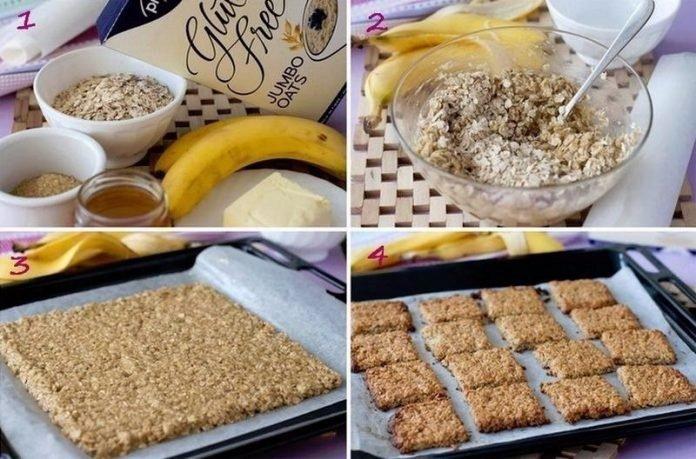Самое полезное банановое печенье за 15 минут! Да ещё и такое вкусное!
