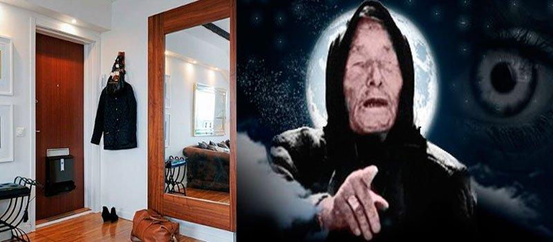 Ванга расскажет, почему нельзя вешать зеркала возле дверей! А у Вас висит?