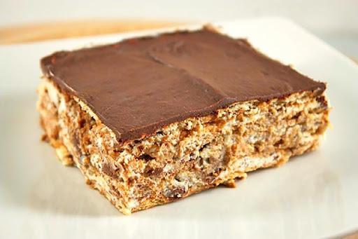 Торт из печенья без выпечки с итальянским кремом. Получаются всегда бесподобно!
