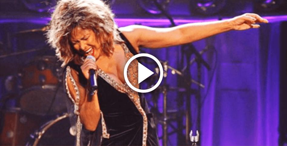 Неуемная Тина Тернер в свой 76-ой День Рождения живьем исполнила хит «Simply the Best»!