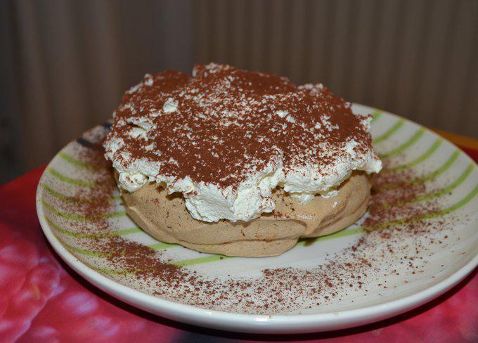 Известнейший торт Павлова «Капучино». Любителям кофе и капучино посвящается!