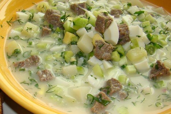 ТОР-5 рецептов вкусной окрошки для любителей холодных супов