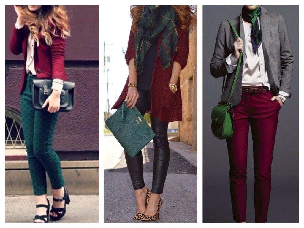 Божественный цвет марсала — выбор роскошных женщин! Как же модно и стильно его сочетать...