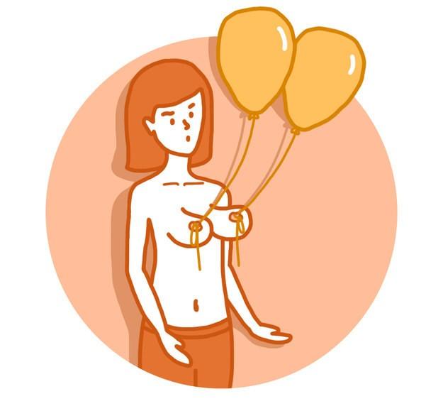 Как самостоятельно подтянуть обвисшую грудь - 9 способов