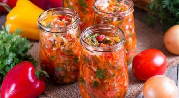 Простая витаминная заправка для супа на зиму. Супчик на ней всегда мега ароматный!