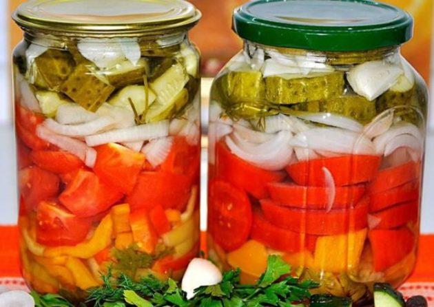 1 раз сделала овощное ассорти на зиму без стерилизации - теперь закрываю каждый год!