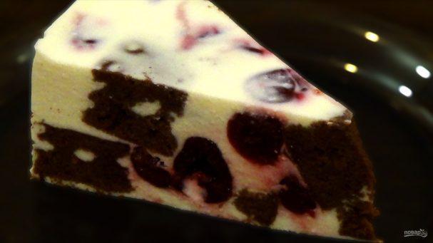 Творожно-вишнёвый торт-суфле - вы запомните этот вкус на всю жизнь!
