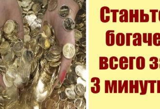Быстро и просто! Привлечение денег за 3 минуты! Работает у всех!