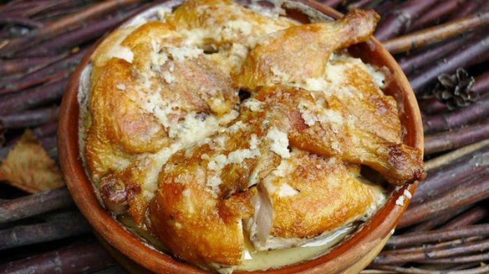 Чкмерули - супер вкусное куриное блюдо грузинской кухни. Удивите близких!