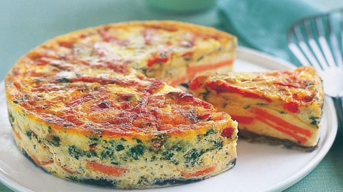 Фриттата — итальянский завтрак! Вкусный завтрак!