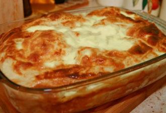 Ленивая баница - обалденное болгарское блюдо с простым рецептом