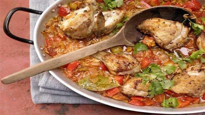Тушёная курица по-испански — невероятно вкусное, сытное, полезное и ароматное блюдо!