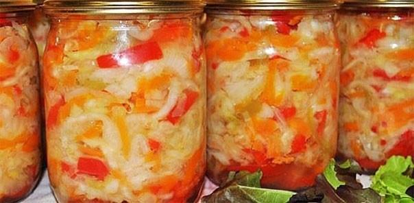 Овощной салат «Лето»