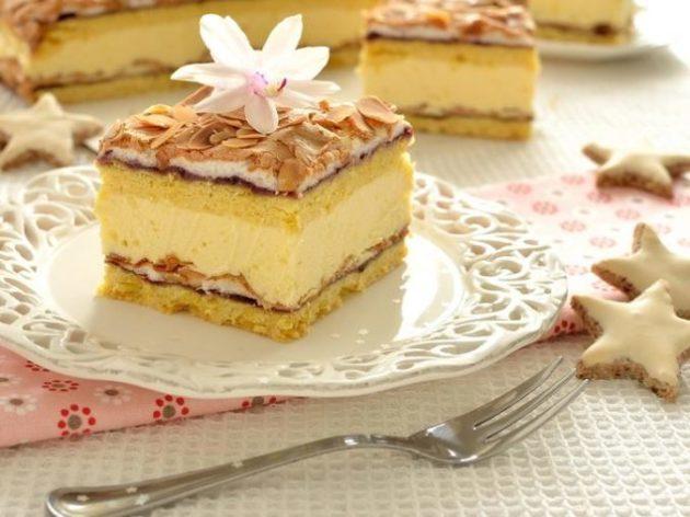 Торт «Пани Валевска» - вы надолго запомните эту красивенную вкуснятину!