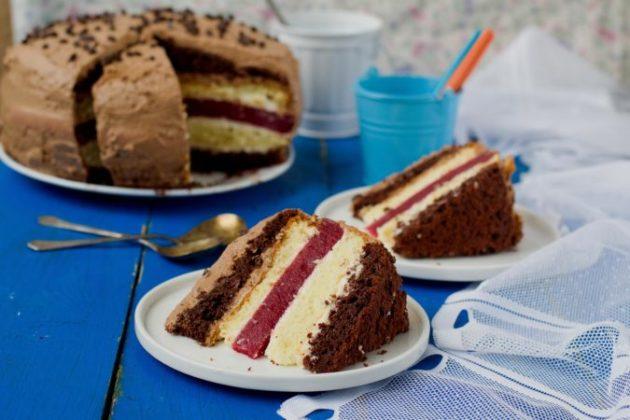 Многослойный торт «Мишель» - чтобы гости ахнули от восхищения!