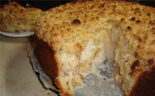 Яблочный пирог «Царский». Вот уж действительно вкус соответствует названию!