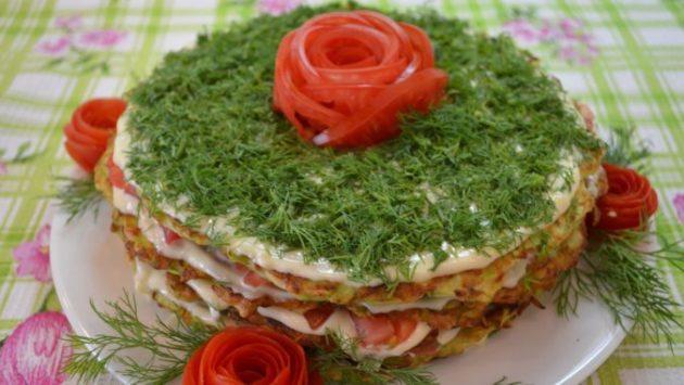 Торт из кабачков - обожаю это чудесное блюдо с детства!
