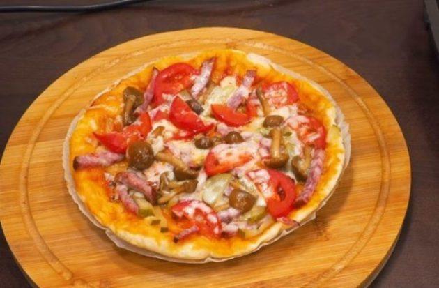 Супер быстрая и мега вкусная пицца. Делаю часто и без повода!