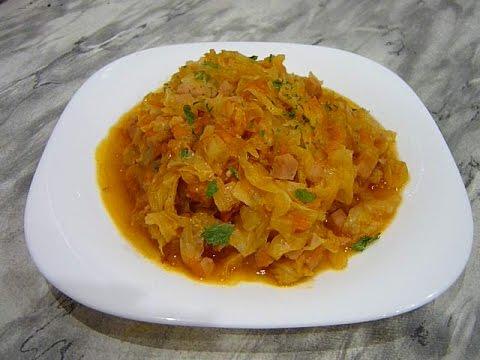 Очень сочный бигус из свежей капусты : рецепт от Натальи Карпушенковой