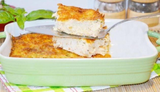 Куриный лентяй с кабачками - вкусное и нежное блюдо. Простота приготовления подкупает!