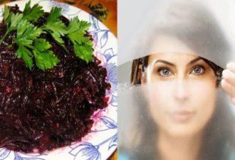Очень полезный салат из свеклы! Восстановит зрение, очистит почки и кишечник! Рецепт в видео!