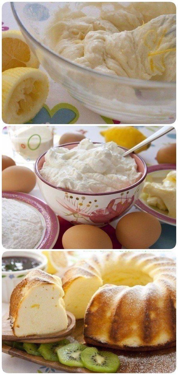 Творожник лимонный