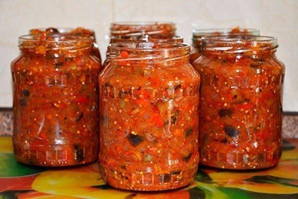 Рецепт, который передается в нашей семье от прабабушки: ИКРА из Баклажанов