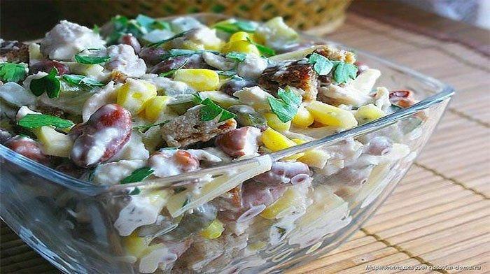Эти 9 вкуснейших салатов выручат Вас в будни и в праздники