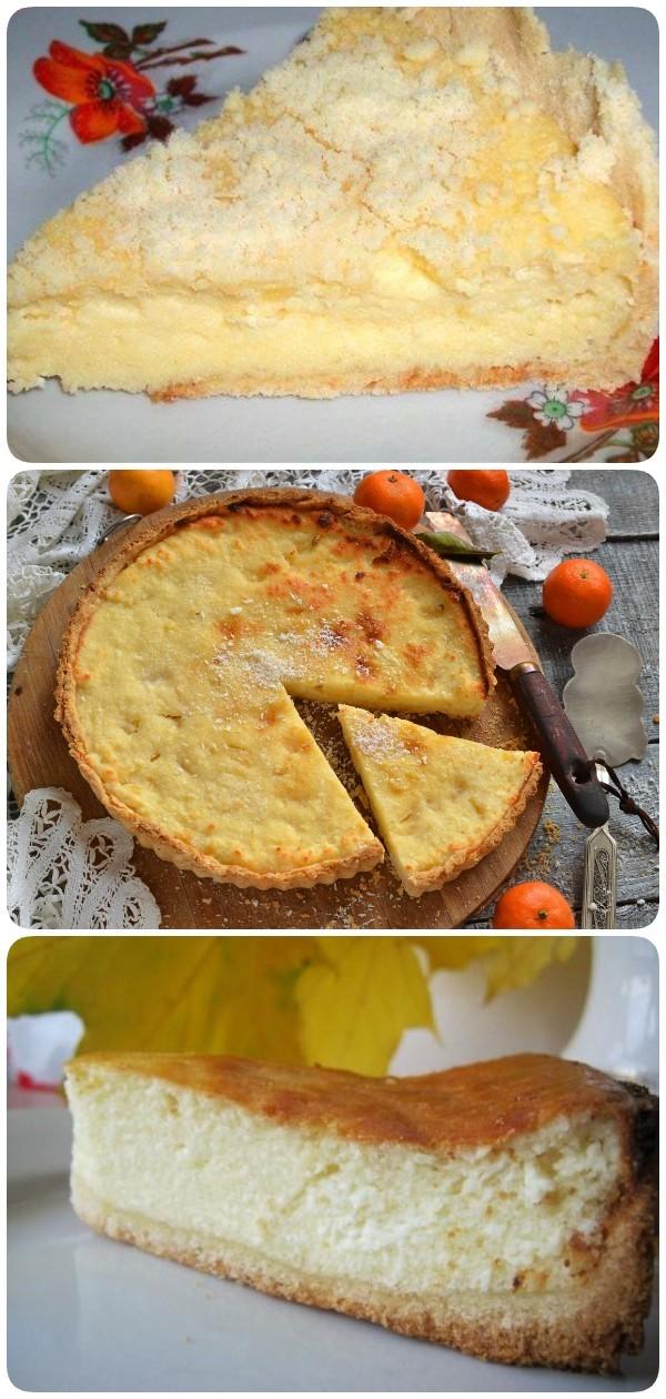 Пирог с творогом — готовится быстро и просто тает во рту!