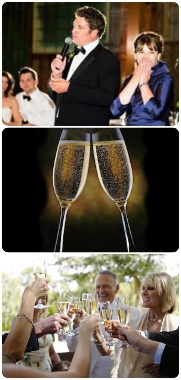 Муж и Жена празднуют юбилей… Жена не растерялась и произнесла…