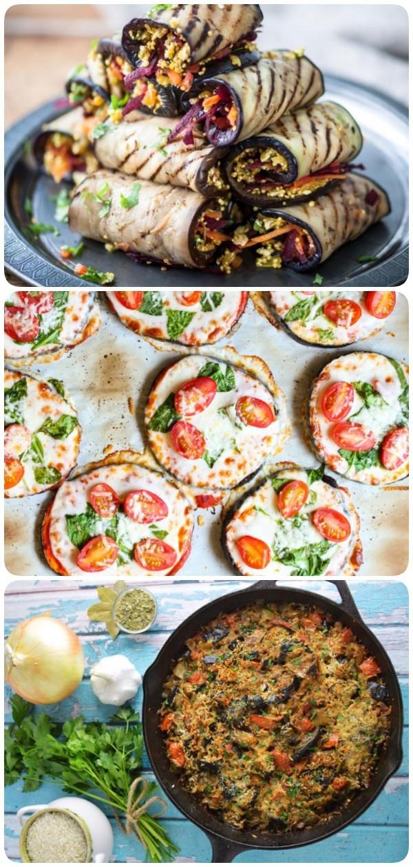 5 необычных и полезных блюд из баклажанов