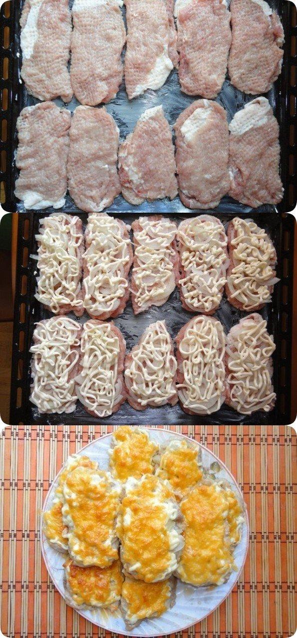 Мясо по-французски в духовке