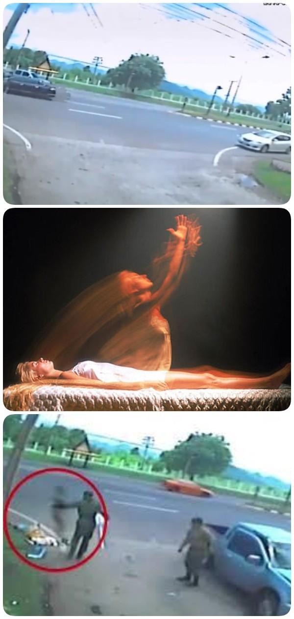 Душа женщины покинула тело после аварии. Слабонервным лучше не смотреть!