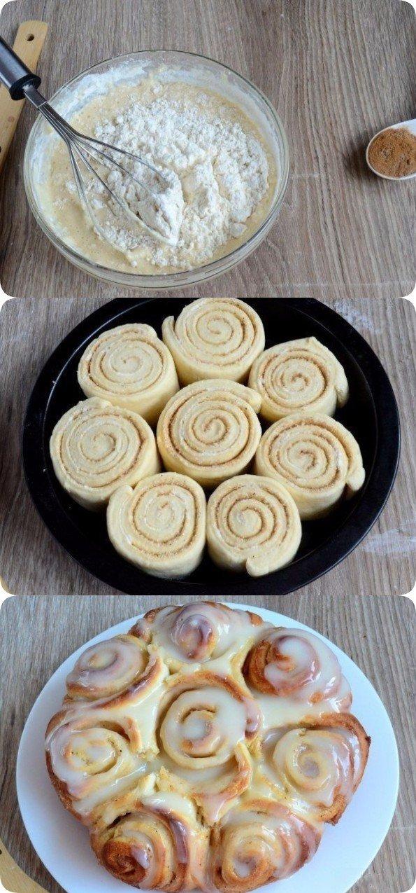 Шикарные булочки а-ля Синнабон