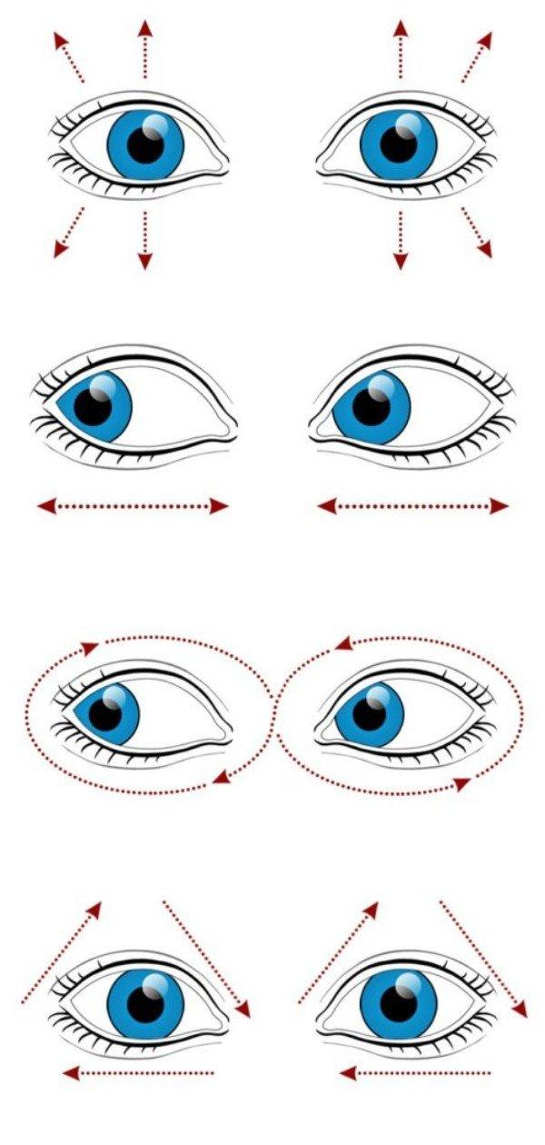 10 упражнений, чтобы предотвратить потерю зрения