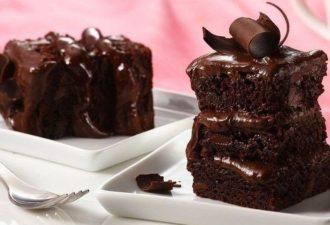 Быстрый пирог на кефире с шоколадом: пошаговый рецепт приготовления