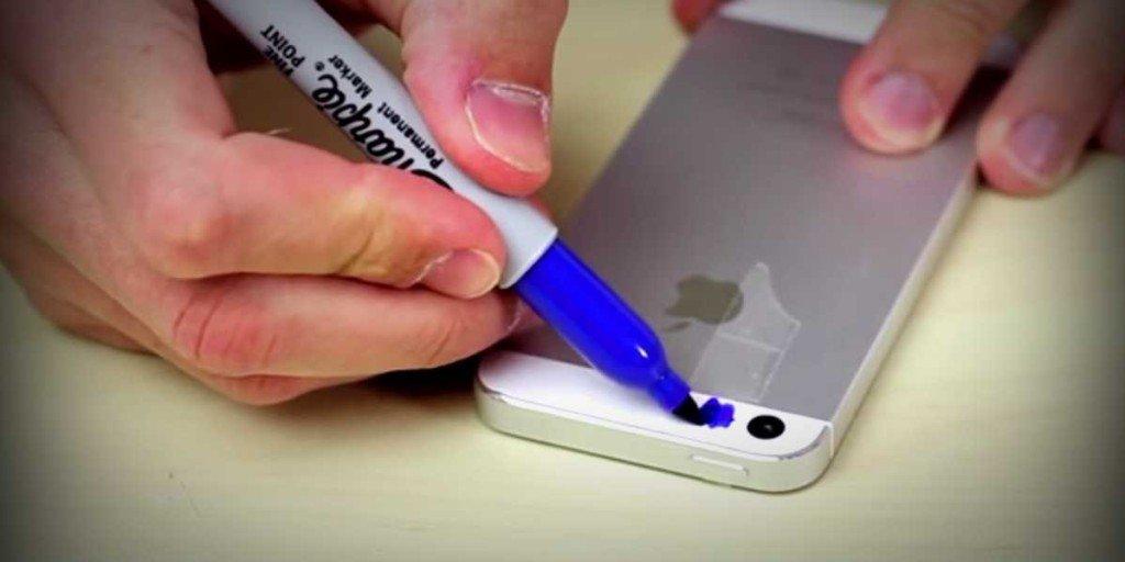 Если камеру на смартфоне закрасить синим маркером, можно заснять то, что не видно невооруженным взглядом. Заинтригованы?