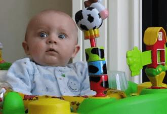 74 млн. просмотров! Реакция полугодовалого малыша на мамин насморк поразит Вас!