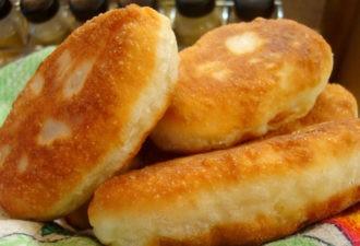 Воздушные пирожки с картофелем и секретной добавкой. Такие ещё моя бабушка пекла!
