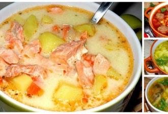 10 рецептов самых вкусных супов! Буду удивлять родных и друзей!